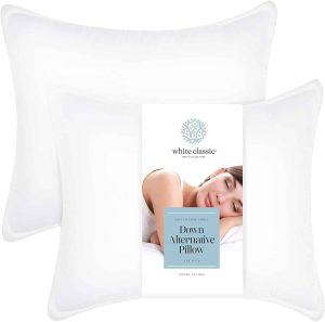 White Classic Bed Pillows