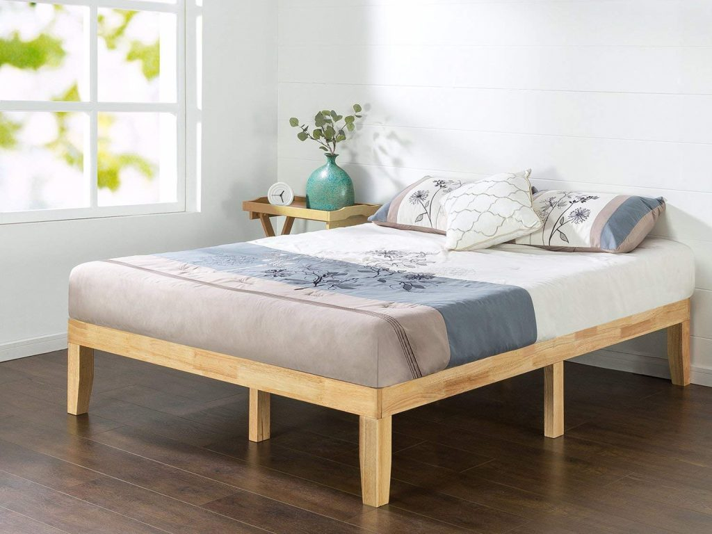 "Zinus 14"" Wood Platform Bed"