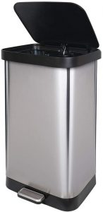 GLAD GLD-74507 Extra Capacity Trash Can