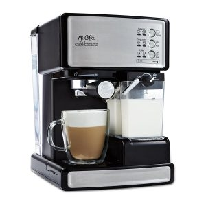 Mr. Coffee Café Barista, Silver