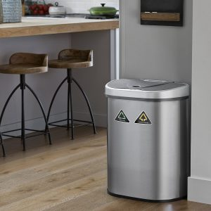 NINESTARS Motion Sensor Trash Can