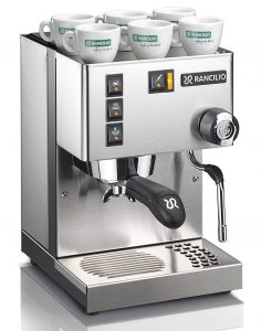 Rancilo Silvia Espresso Machine with Stainless steel