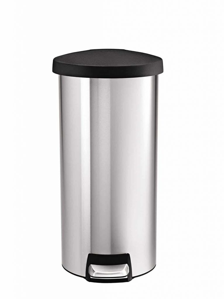 Simplehuman Round Trash Can
