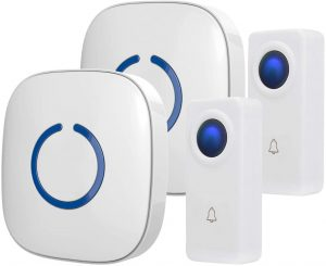 Wireless Doorbell by SadoTech – Waterproof Door Bells