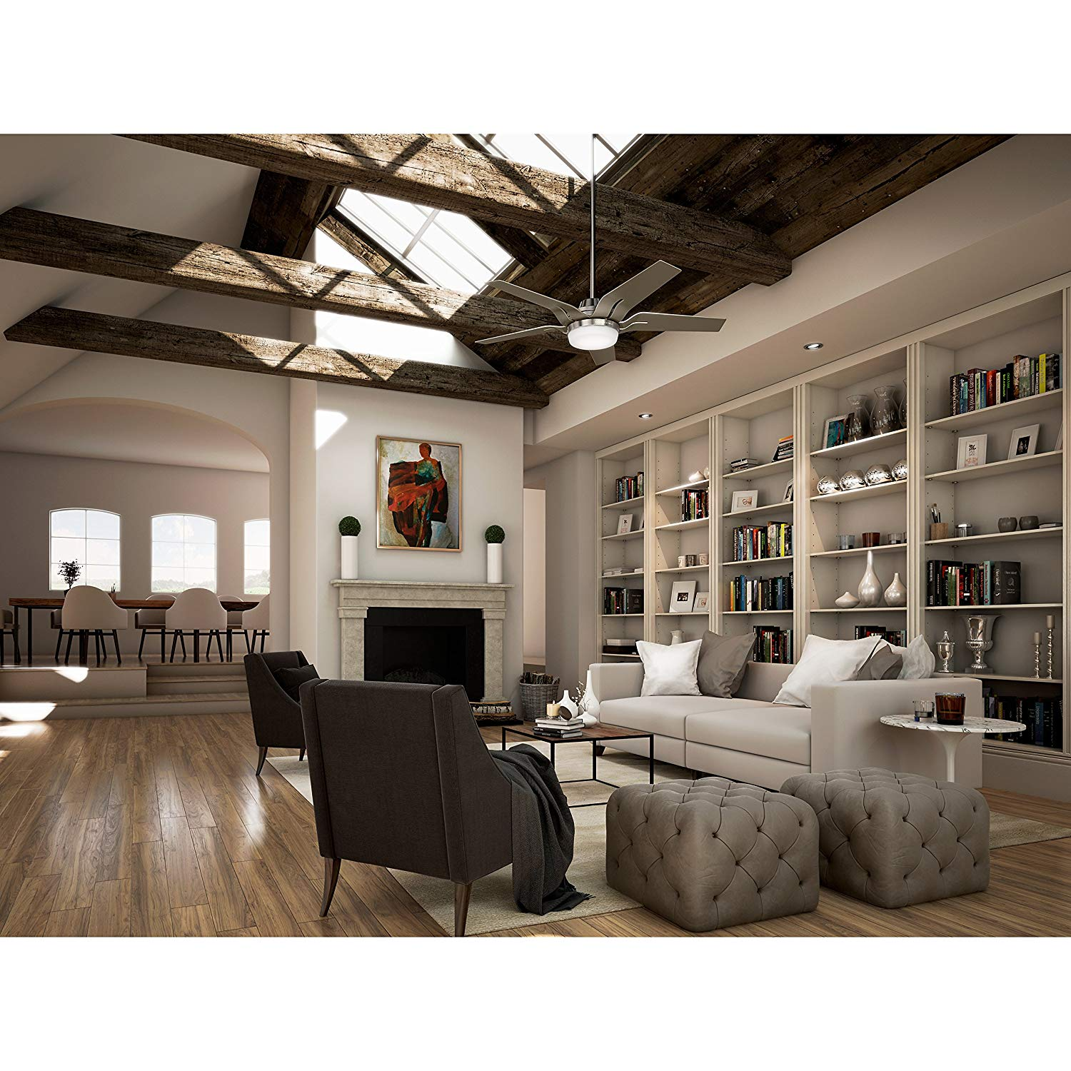Top 10 Best Ceiling Fans with Lights in 2020 Reviews   Buying Guide