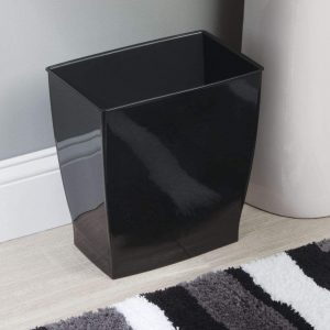 iDesign Spa Rectangular Trash Can