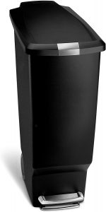 simplehuman 10.6 Gallon Step Trash Can