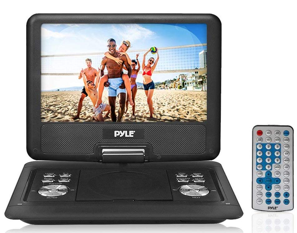 Pyle-PDH14-Portable-DVD-CD-Player