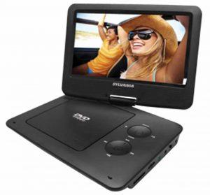 Sylvania 9-Inch Portable Swivel Screen DVD Player