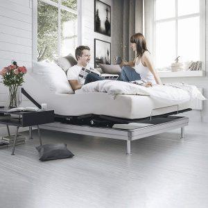 Yaasa Luxe Adjustable Bed Frame King
