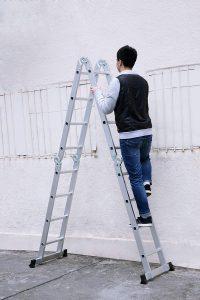 Aluminum Telescoping Ladder Telescopic Extension