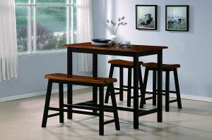 Crown Mark 4-Piece Counter Table Set