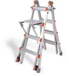 Duty Rating-10102LGW-17-Foot-300-Pound-Ladder
