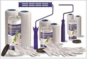GMZ2101 Flat Microfiber 17-Piece Paint kit