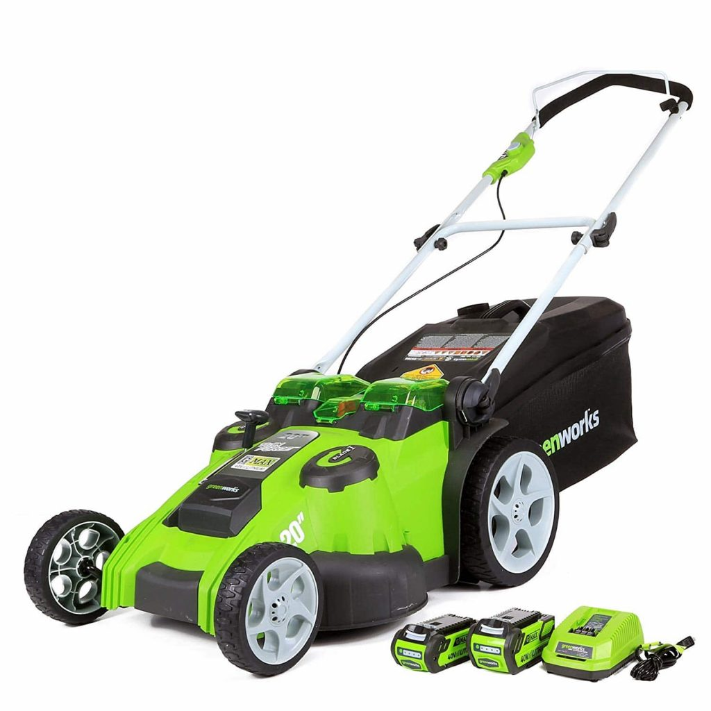 Greenworks 40V 20-Inch Twin Force Cordless 25302