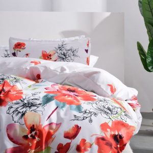Leadtimes Flower Duvet Cover Set