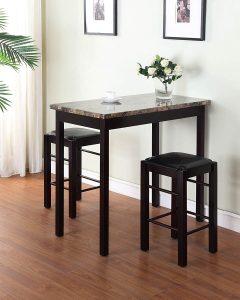 Linon Tavern Collection 3-Piece Table Set