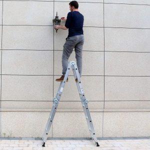 Luisladders Aluminum Safety Locking Hinges Multi-Purpose