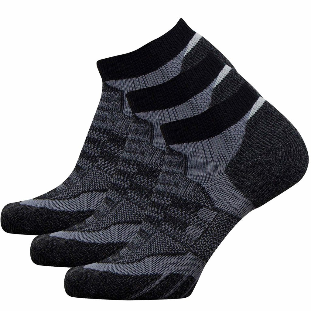 No Show Wool Running Socks Ultra-Light