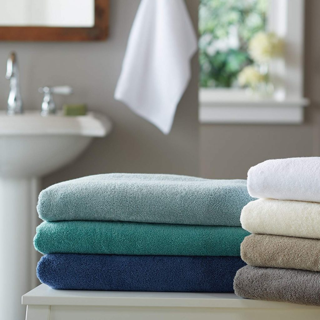 Pinzon Low Twist 6-Piece Bath Towel Set