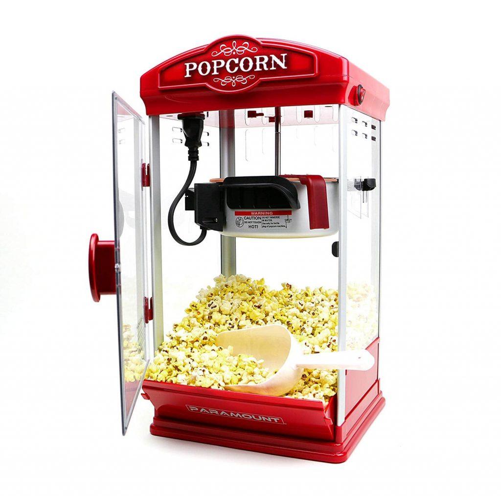 Popcorn Maker Machine Hot-Oil Popper