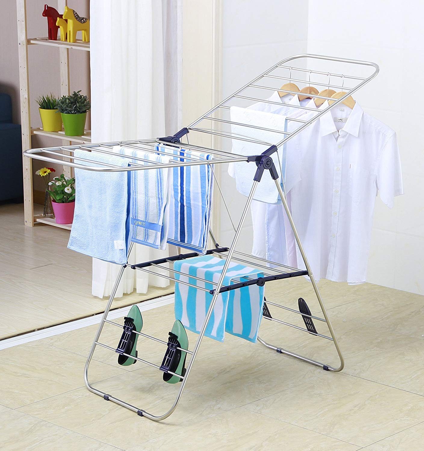 Top 10 Best Portable Clothes Racks in 2020 Reviews | Buyer's Guide
