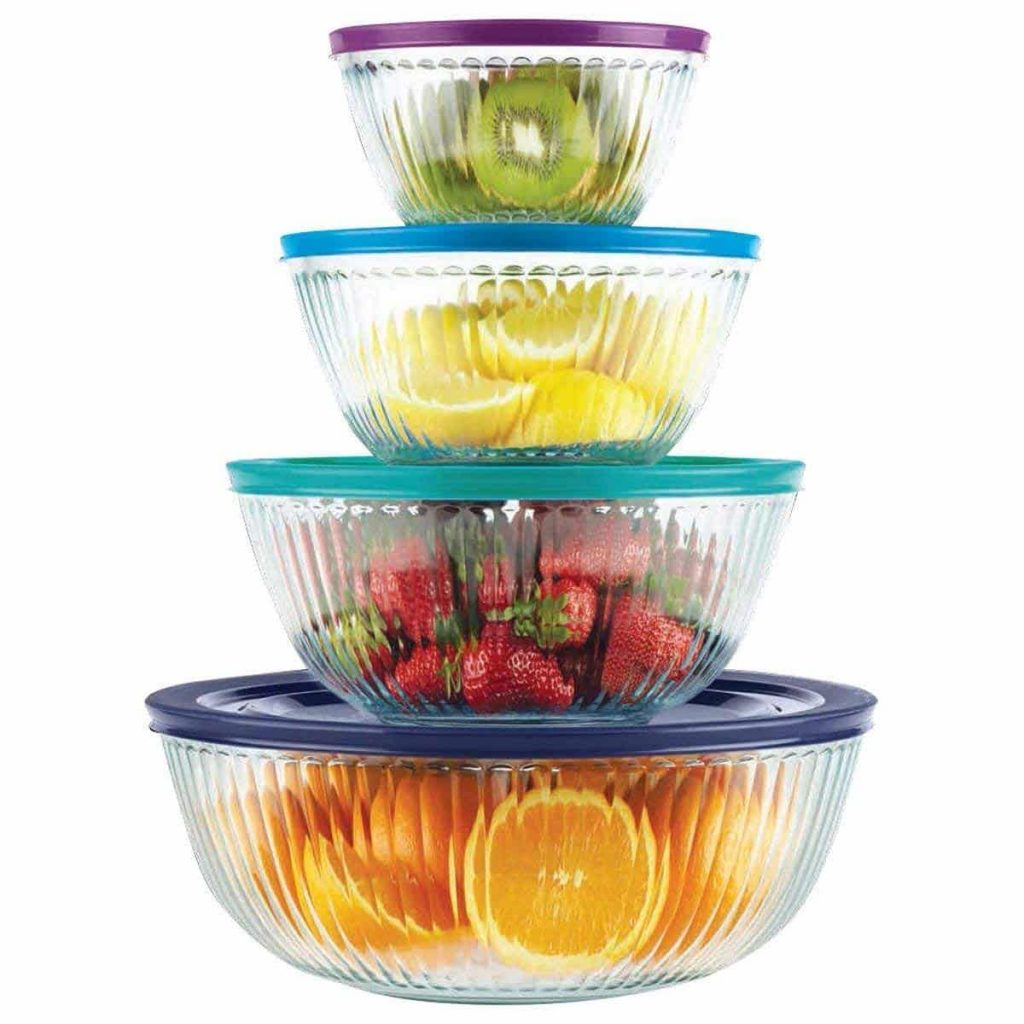 Pyrex 8 piece Years Mixing Limited