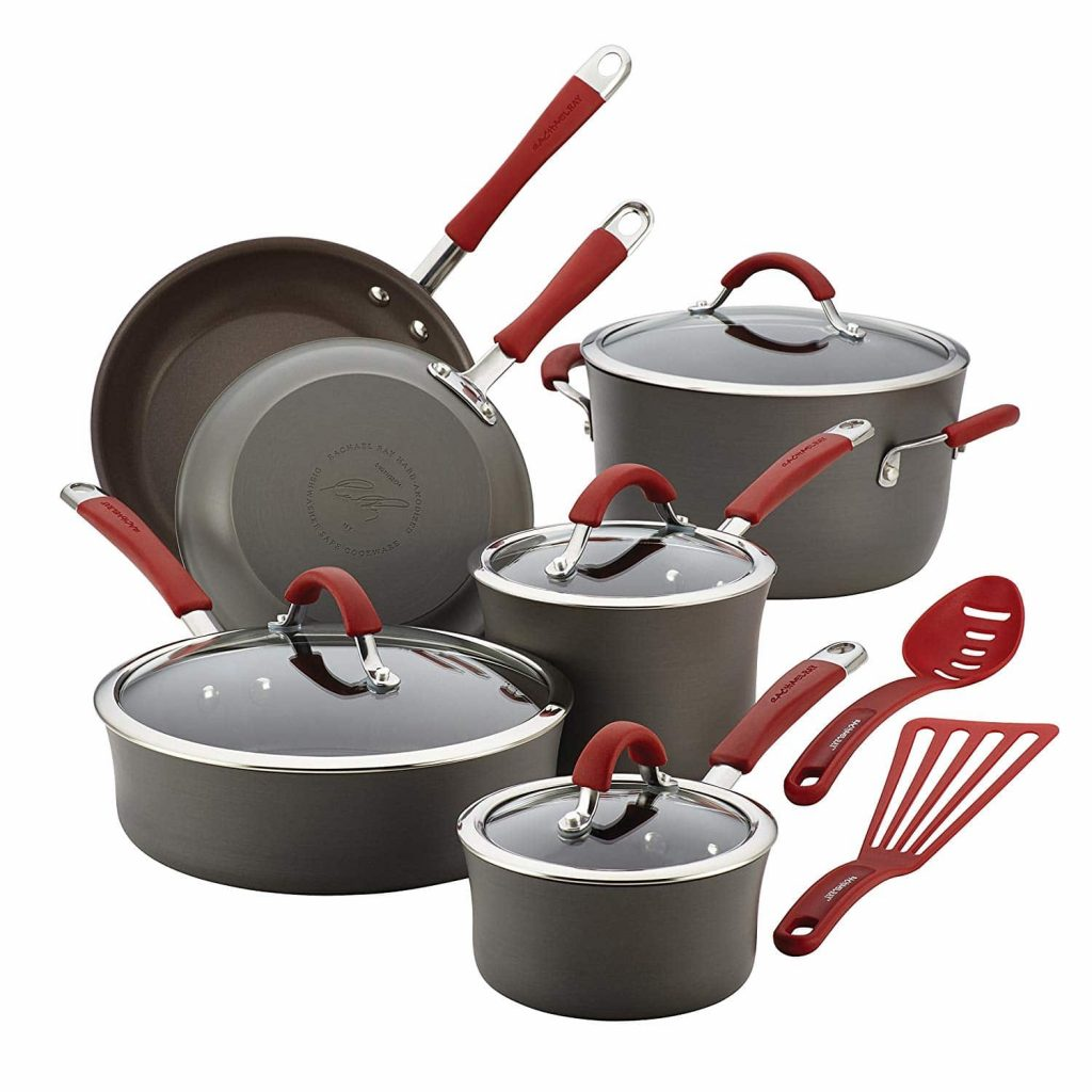 Rachael Ray Hard Anodized Aluminum Cranberry