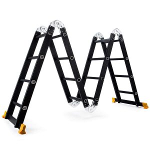 Superworth Boutique Multi-Purpose Aluminum Step Ladder