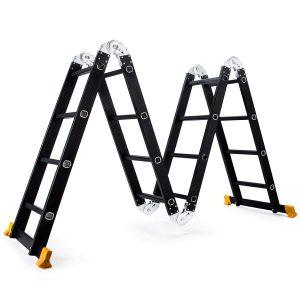 Superworth Boutique Multi-Purpose Aluminum Step Ladder