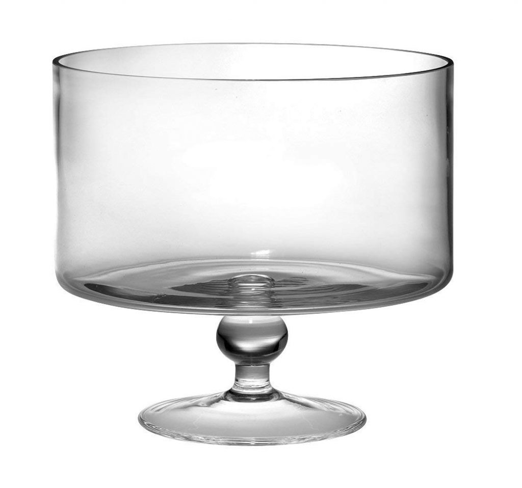 Trifle Bowls/Barski European Beautiful Trifle quarts