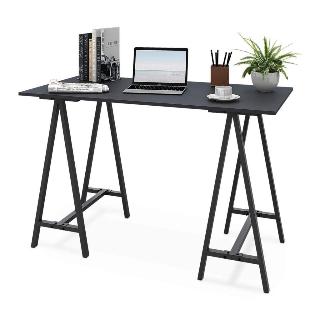 WLIVE-47″-Stylish Trestle Computer Desk