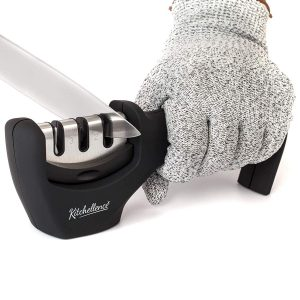 3-Stage Kitchen Knife Sharpener