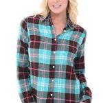 Alexander Del-Rossa Womens Flannel Shirt