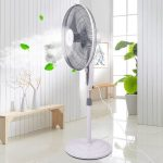 Costway 18-Inch 3-Speed Oscillating Stand Pedestal Fan