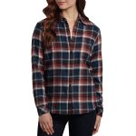 Dickies Women's Long Sleeve Plaid Flannel Shirt