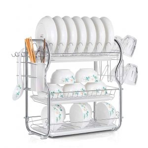 Drainer Kitchen Storage Drainboard Cutlery