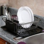 Expandable Over the Sink Kitchen Dish Drying Rack