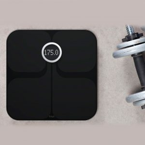 Fitbit Wi-Fi Smart Scale Black