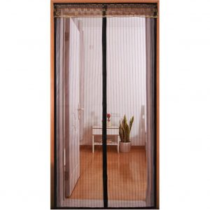 Full Frame Velcro Keep Mosquito Fly Bugs Out French Door Patio Door