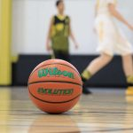 Green Evolution Indoor Game Basketball