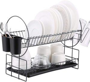 Housen Solutions 2 Tier Dish Rack