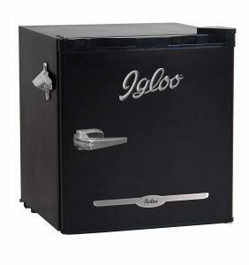 Igloo FR176-BLACK Retro bar Fridge, Black
