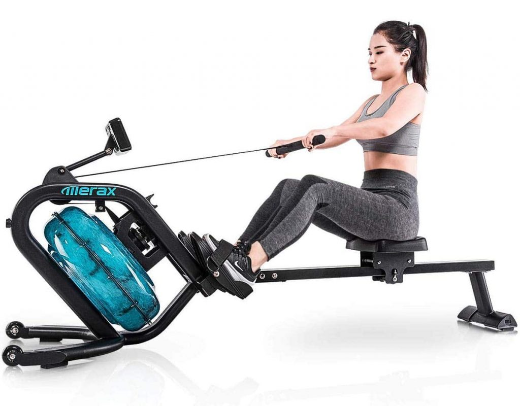 Merax Water Rowing Machine Equipment