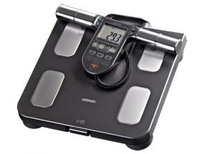 Omron-Body Composition Monitor among Scale