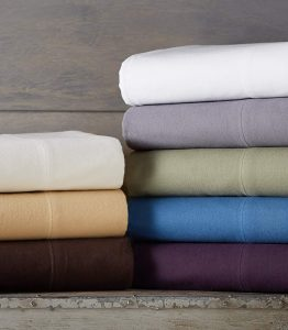 Pinzon Signature Heavyweight 190-Gram Cotton Flannel Sheet Set