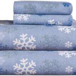 Pointehaven Heavy Weight 100% Cotton Sheet Set Printed Flannel