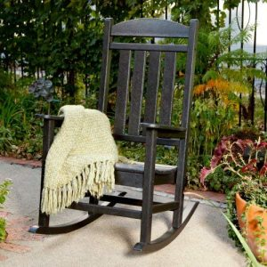 Polywood R100BL Presidential Outdoor Rocking Chair