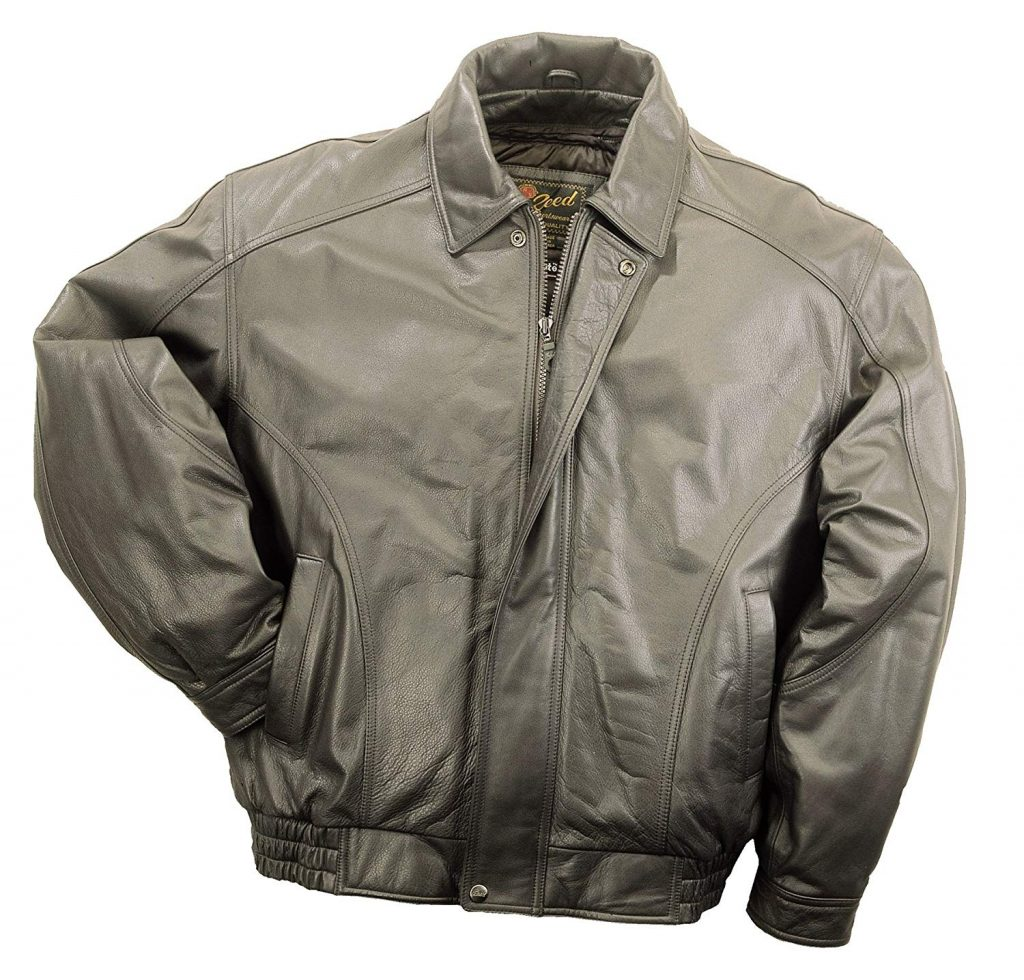 REED MEN'S AMERICAN STYLE BOMBER GENUINE
