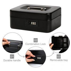Safe Metal Small Locking Box